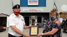 FRIENDSHIP AWARD TO SEVERN TIMBER MART