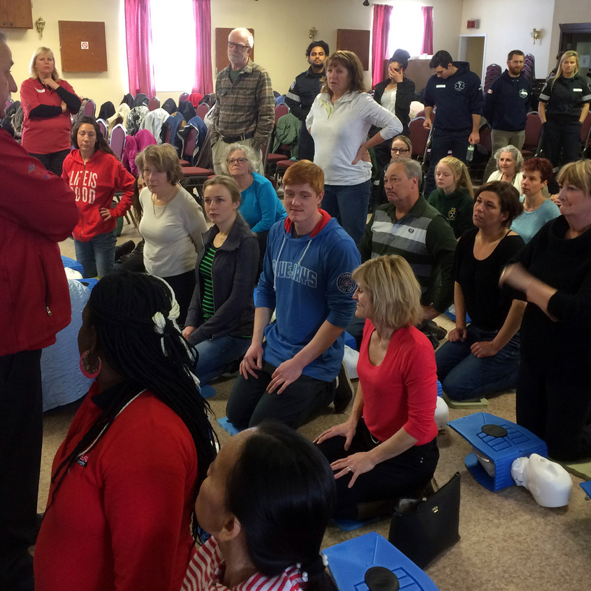 CPR Day - Overview CPR training
