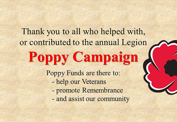 Thank you for supporting Poppy Campaign.