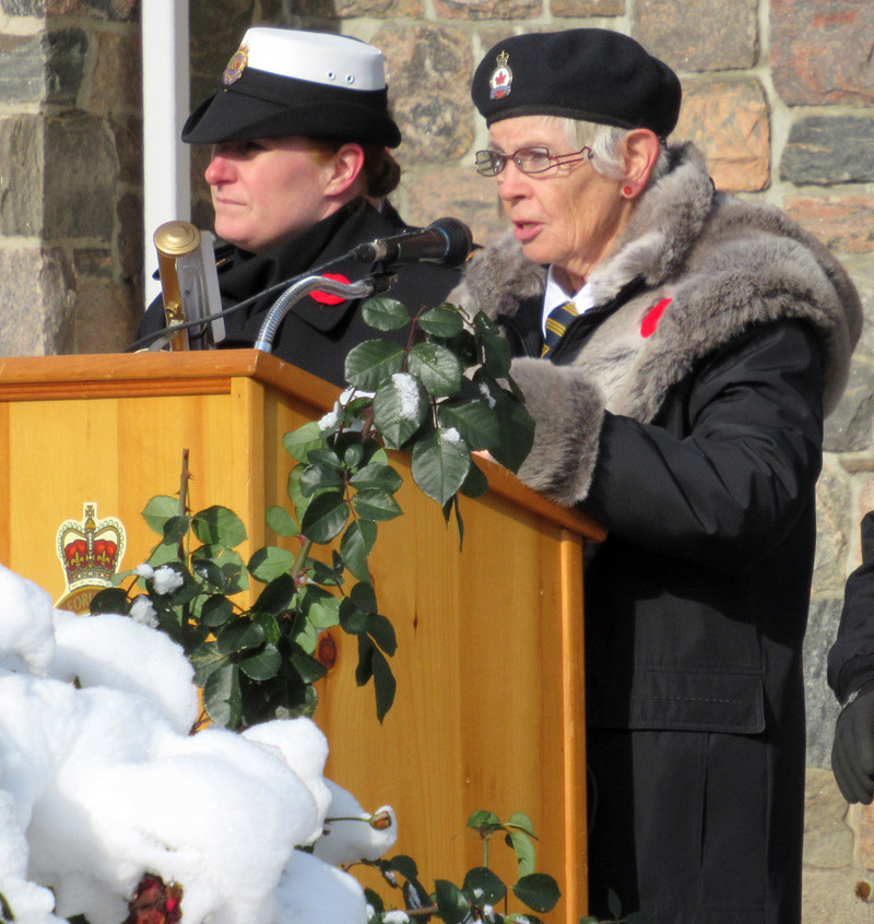 Coldwater Remembrance Day 2017