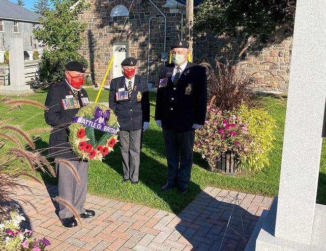 Battle of Britain wreath laying - Tom, B