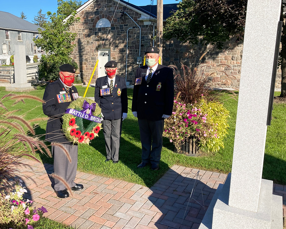 Battle of Britain Commemorated in Coldwater