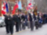 Remembrance Day 2012 on main street