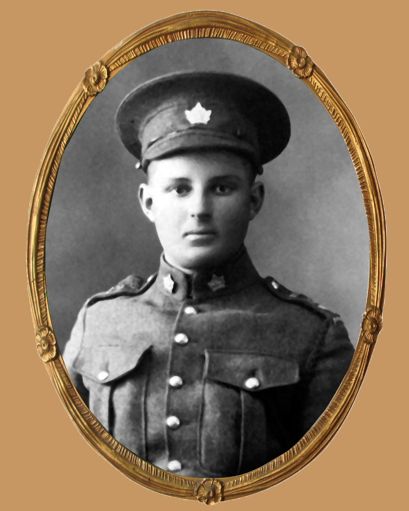 Private Andrew Durnford of Coldwater was killed in action on the first day of the Canadian troops' assault on Vimy Ridge, April 9, 1917.