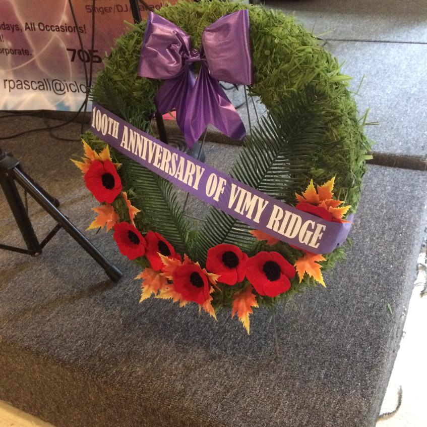 Battle of Vimy Ridge commemorated