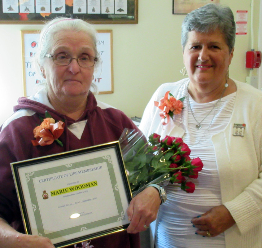 Ladies Auxiliary Honours & Awards