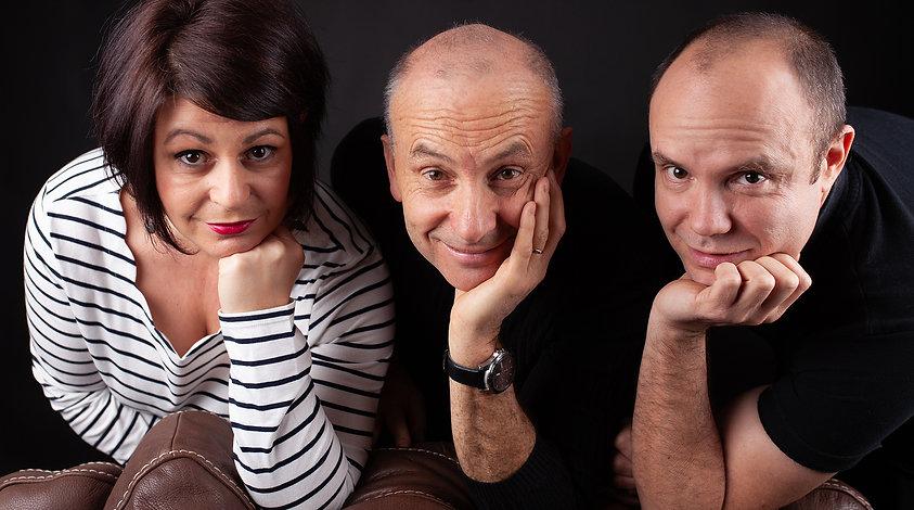Adrian Clarck Trio © Geoffrey Loyaux