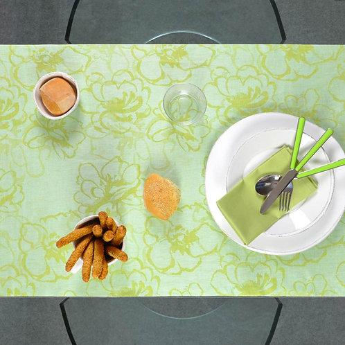 Runner - tovaglia - in fiandra di puro lino per tavolo - made in italy - tovaglie e runner su misura