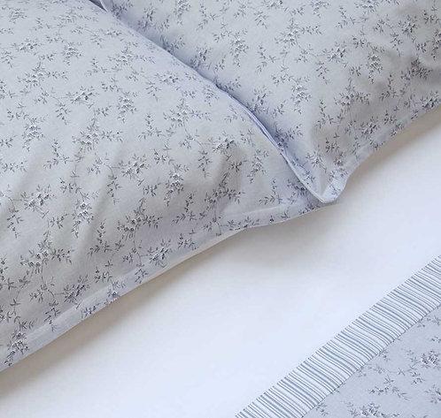 Lenzuola italiane in puro cotone anallergico, ottima qualità made in italy, set letto completo lenzuola, sotto e federe