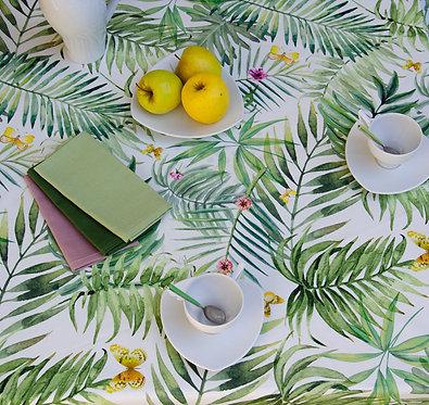 Tovaglia in puro cotone made in italy da 12 posti e da 10 posti tavola tovaglia disponibile in due misure 140x180cm e 150x270