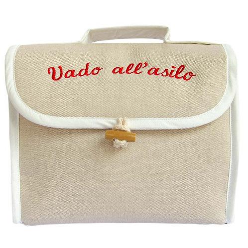 """Beauty in lino """"Vado all'asilo"""" - Way"""