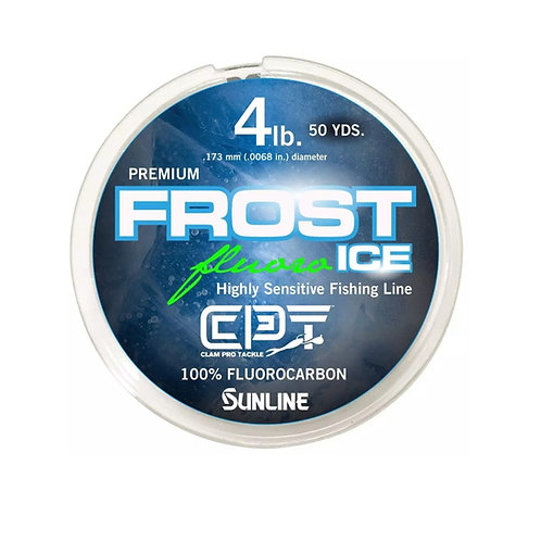 CLAM FROST CLEAR ICE FLUOROCARBON