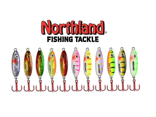 NORTHLAND BUCK-SHOT RATTLE SPOON VALUE ASSORTMENT