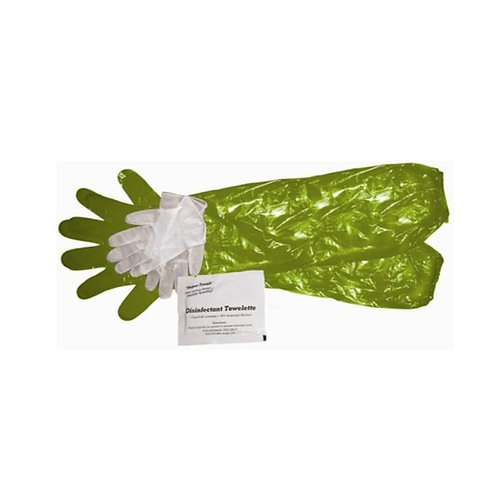 HME GAME CLEANING GLOVES WITH TOWELETTE