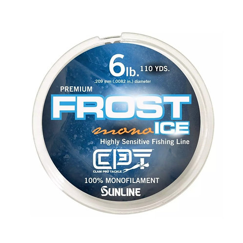 CLAM FROST CLEAR ICE MONOFILAMENT