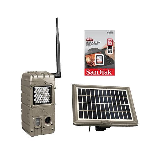 CUDDELINK G-SERIES POWER HOUSE IR FLASH SOLAR BUNDLE G-5062