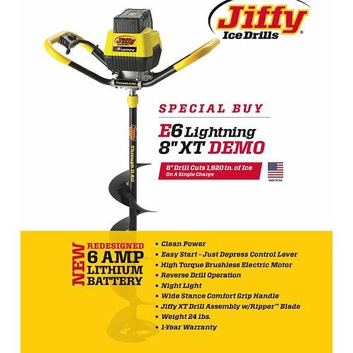 """JIFFY E6 LIGHTNING 40V 8"""" ICE AUGER"""