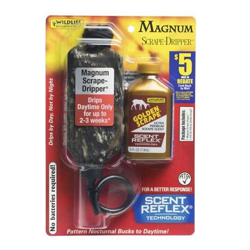 WILDLIFE RESEARCH MAGNUM GOLDEN SCRAPE-DRIPPER COMBO
