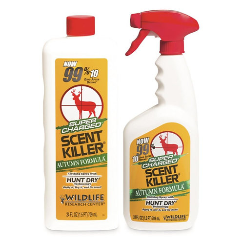 WILDLIFE RESEARCH SCENT KILLER AUTUMN 24/24 COMBO