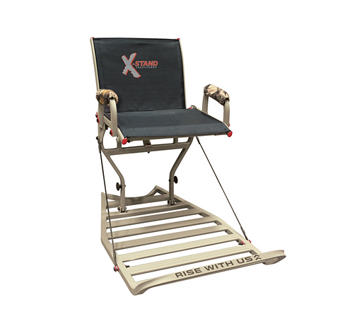 "X-STAND ""JESTER"" WITH BACKREST"