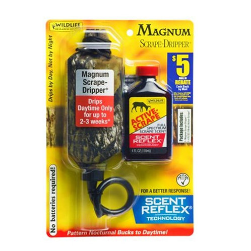 WILDLIFE RESEARCH MAGNUM ACTIVE-SCRAPE DRIPPER COMBO