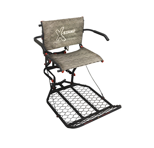 """X-STAND """"PATRON"""" WITH BACKREST"""