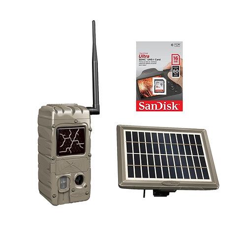CUDDELINK G-SERIES POWER HOUSE BLACK FLASH SOLAR BUNDLE G-5079