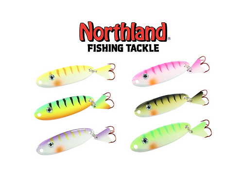 NORTHLAND UV MACHO MINNOW SPOON VALUE ASSORTMENT