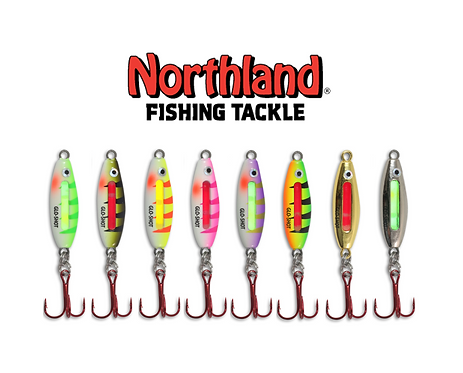 NORTHLAND GLO-SHOT FIRE BELLY SPOON VALUE ASSORTMENT