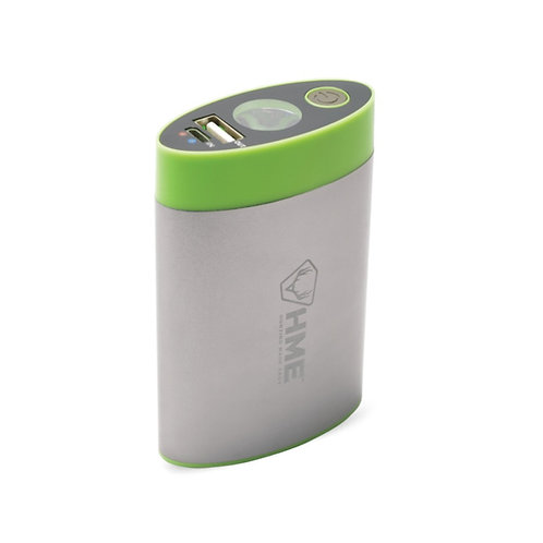 HME HAND WARMER – 4,400 MAH WITH BUILT IN FLASHLIGHT