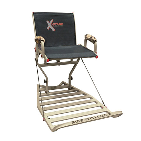 """X-STAND """"JESTER"""" WITH BACKREST"""