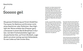 Geile Eier Kochbuch Geschichte
