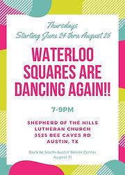 Waterloo Squares Are Dancing Again!!