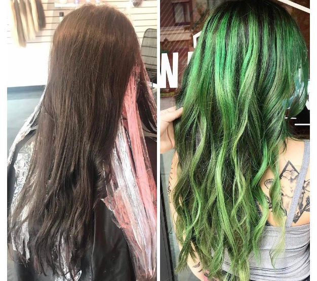 Color Correction and Green Toner
