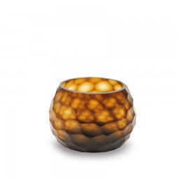 GUAXS SOMBA TEALIGHT butter / brown