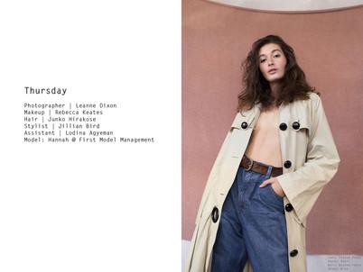Thursday by Leanne DIxon