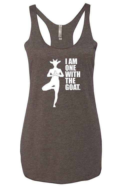 Goat Yoga Tank - Macchiato