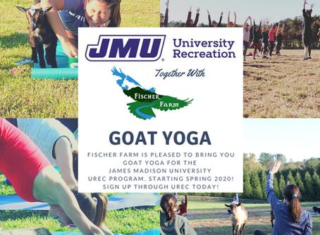 Now Reserving for JMU - UREC Program
