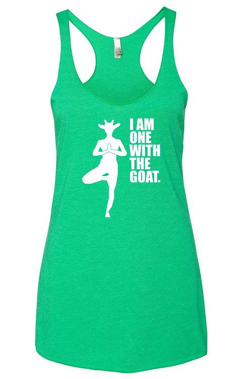Goat Yoga Tank - Envy Green