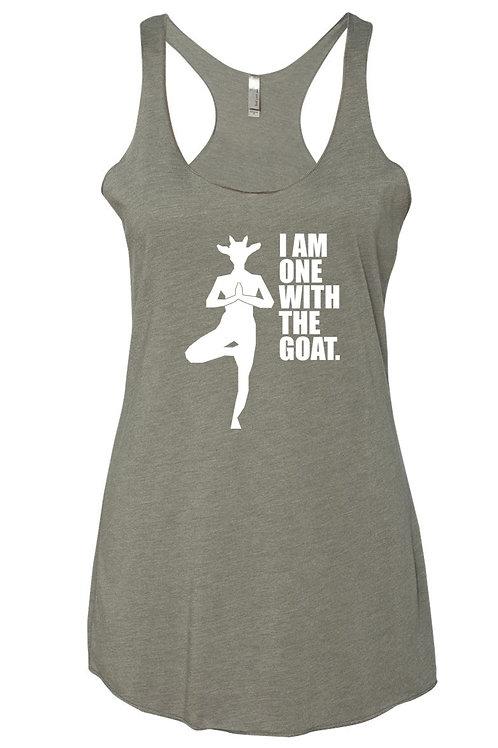 Goat Yoga Tank - Light Gray