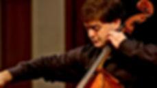 Daniel Kaler performing at the Heifetz Institute in 2016.