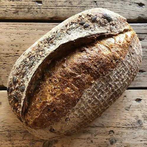 SOURDOUGH BREAD (Seeded) (LGE)