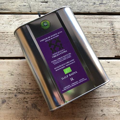 CORTIJO EXTRA-VIRGIN OLIVE OIL  (Organic) (3L)