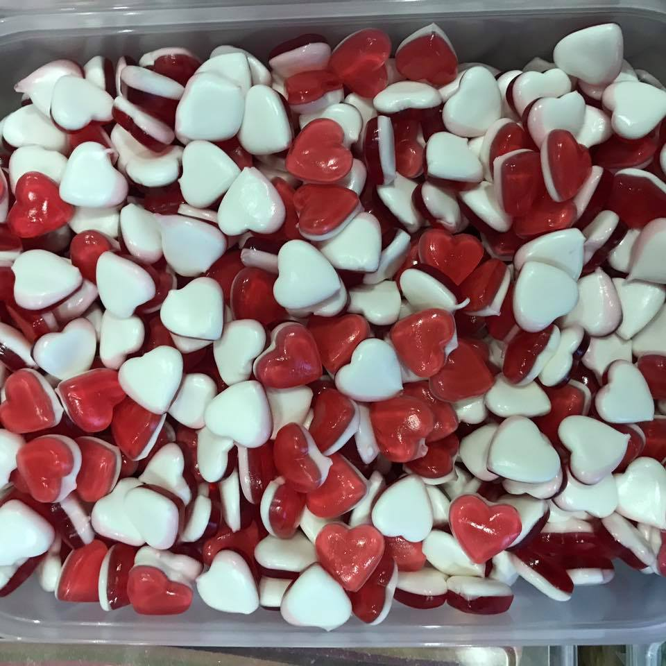 Haribo Love Hearts - Sweets and Treats - www.bigbouncybriers.co