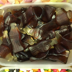 Giant Cola Bottles  - Sweets and Treats - www.bigbouncybriers.co