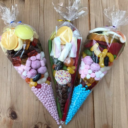 Sweet Cones  - Sweets and Treats - www.bigbouncybriers.co