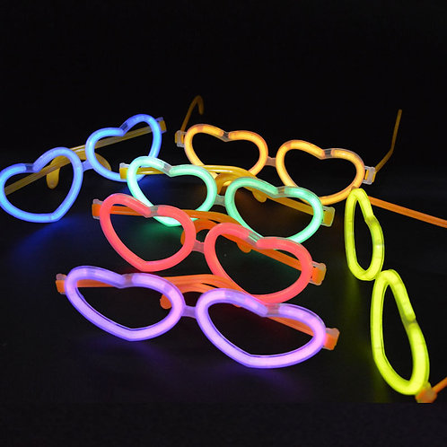 Glow Heart Glasses