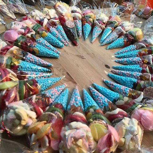 Custom sweet cones
