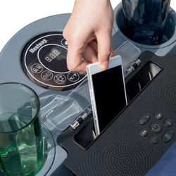 Lay Z Spa Bluetooth Speaker System With Phone - Hot Tub Hire - www.bigbouncybriers.co