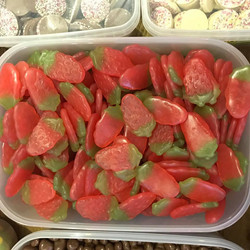 Haribo Strawberries - Sweets and Treats - www.bigbouncybriers.co